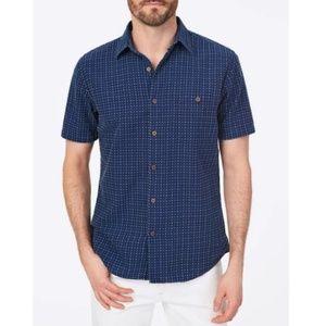 Faherty Short-Sleeve Coast Shirt | Block Island Ja